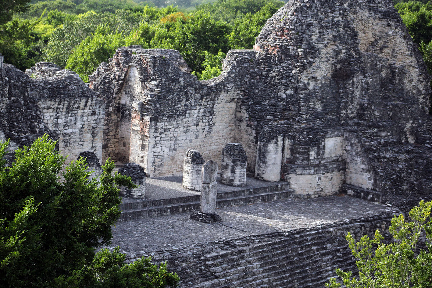 Calakmul es Patrimonio Mixto de la Humanidad.