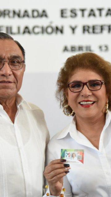 Martha Albores obliga a trabajadores de la SSA a afiliarse al PRI