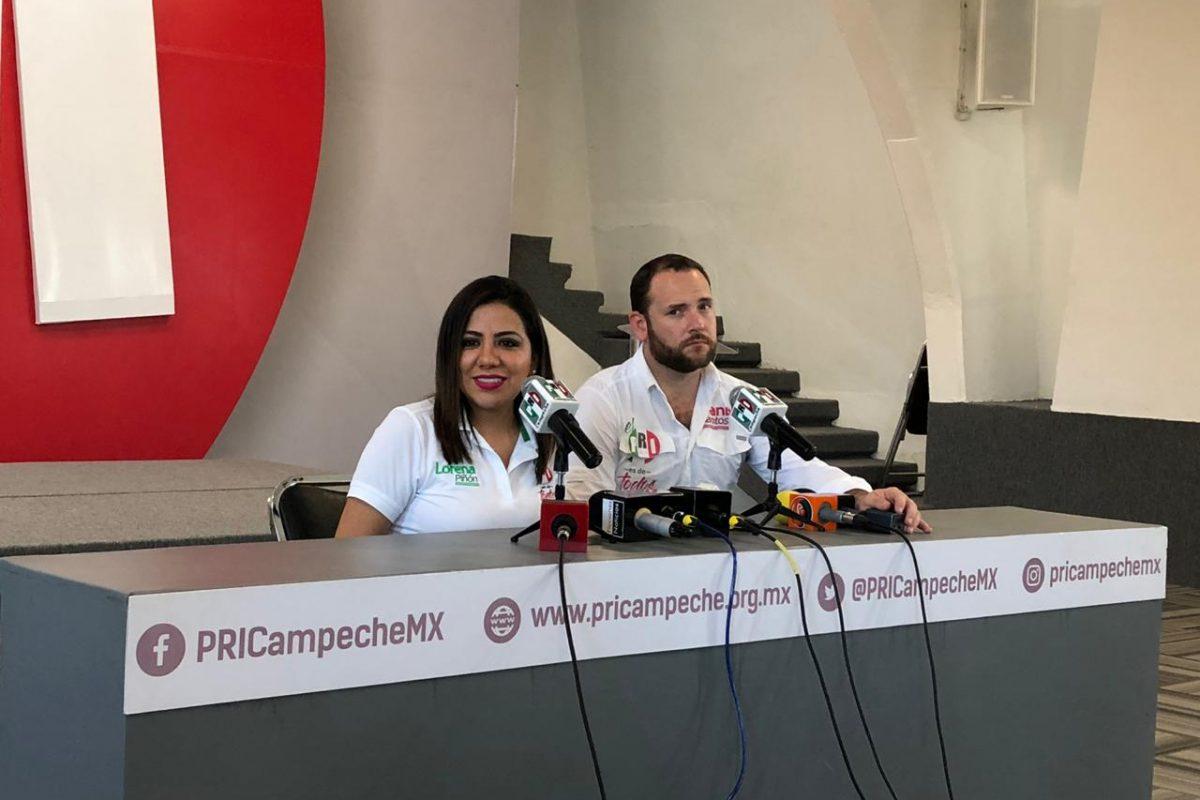 "Alfil de ""Alito"" llega a Campeche; arremete contra Ivonne Ortega"