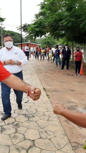 Reportan casos de Covid-19 en el CDE del PRI Campeche