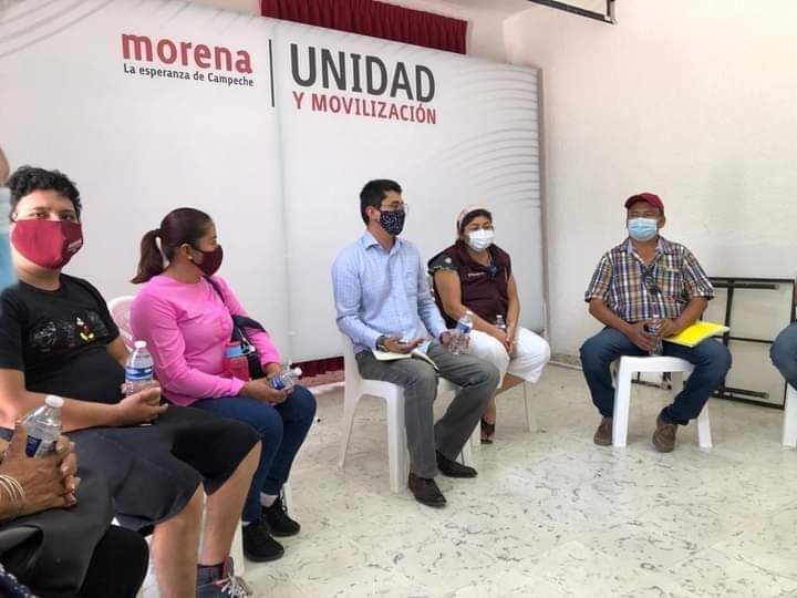 Ratifican a Erick Reyes León como presidente estatal de Morena en Campeche