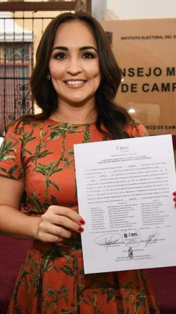 Campeche será un municipio sólido: Biby Rabelo