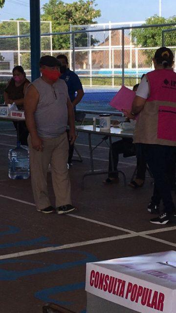 Fracasa Consulta Popular; sólo votó el 9.83%