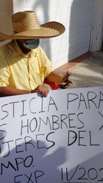 Acusa Pedro Celestino tortuguismo del Tribunal Agrario